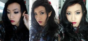 Asami Sato Makeup by the-sushi-monster