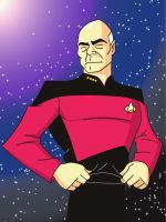 Picard Animated by GrayskullPrime