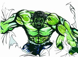 The incredible Hulk by Shinjigo