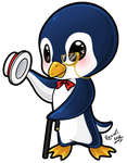 Penguin for Renga! by Raxiell