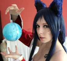 Ahri Makeup Test by xAtashix