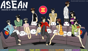 ASEAN Family by BlueStorm-Studio