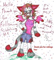 thank you for th watches Faves follows reblogs cop by Kittychan2005