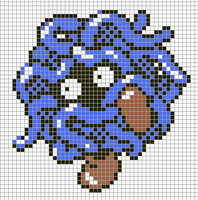Tangela by Hama-Girl