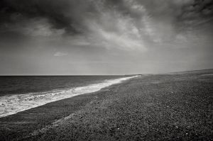 Cley Beach by eternumviti