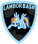 Rainbow Dash as LamborDash by nejcrozi