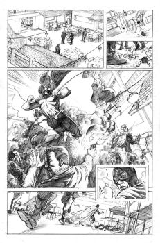 Dr. Mid-Nite Pencils Pg 1 by craigcermak