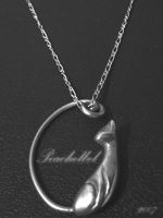 Cat Pendant by peachelbel