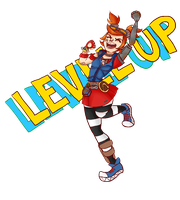 LEVEL UP by minty445325