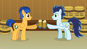 Over a Barrel by flashlighthouse