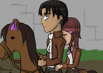 Get off my horse (request) by Comical-Carnival