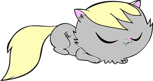 Kittykat Derpy Hooves by Puffypaw