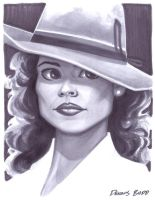 convention sketch 14 Agent Carter by DennisBudd