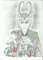 Loki, the Puppet Master by TheWitchKingofAsgard