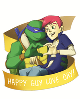 TMNT: Happy Guy Love Day by student-yuuto