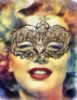 Marilyn water color by GreciaLondres