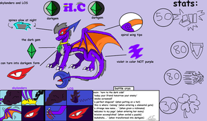 H.C's ref sheet by spyroatwarfang