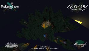 IntoTheWoods Skywars Map -  02 by TheFlyinFerret