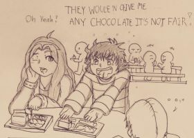 No chocolate by Cliff-kun