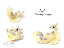Trilly, Lacewing dragon 2 by rosepeonie