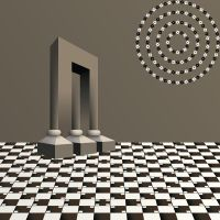 Optical illusion by lazunov