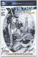 Zatanna1887 cover SDCC 2013 by MichaelDooney