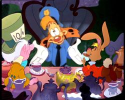 Bonkers at The Mad Tea Party by RogersGirlRabbit