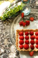 Strawberry Tart!!! by rosefai