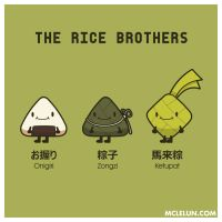 The Rice Brothers by mclelun