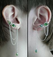 Nyissa  Earcuffs by Saerileth