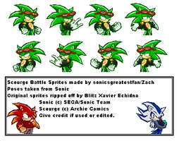 Scourge Battle Sprites by SagaHanson25