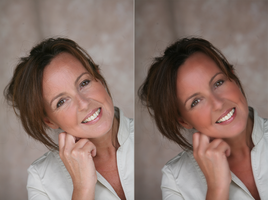My First Facial Retouching by Hayter