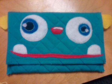 Monster Kindle case by Cakeonmyface