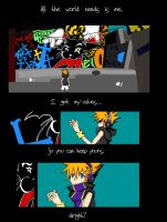 TWEWY comic: p.1 by icemirror