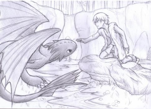 How To Train Your Dragon by Fuyukichi