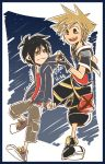 Kingdom Hearts 3 and Big Hero 6: Sora and Hiro by SouL00020