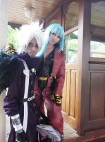 Krizalid and Kula Cosplay by Sillas10