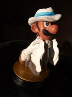 Smooth Criminal Luigi Michael Jackson amiibo by EdjKa