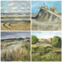 Terschelling paintings by NancyvandenBoom