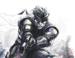 Solid Snake by tri4ce777