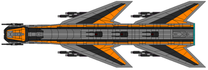 ZXC-98 Mk V Heavy Fighter Bomber by captainIronstar