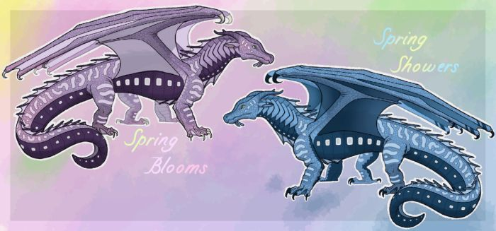 Spring SeaWing Adopts [Open] by Lichenpatch