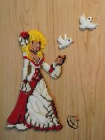 Princess Doll Trainer Perler Beads by Cimenord