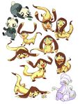 Pokesketches by michellescribbles
