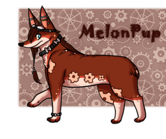 MelonPup Commission by Heart-Monitor