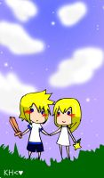 roxas and namine by malengil