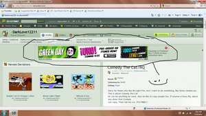 An Green Day ad on deviantART :) by nijia1989