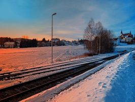 The end of the railroad by patrickjobst