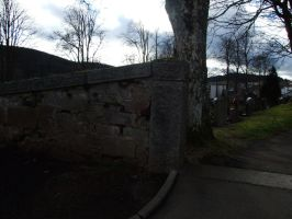 cemetary - wall 2 by sacral-stock