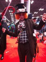 NYCC 2012- Mad Hatter by SweeneyT-DemonBarber